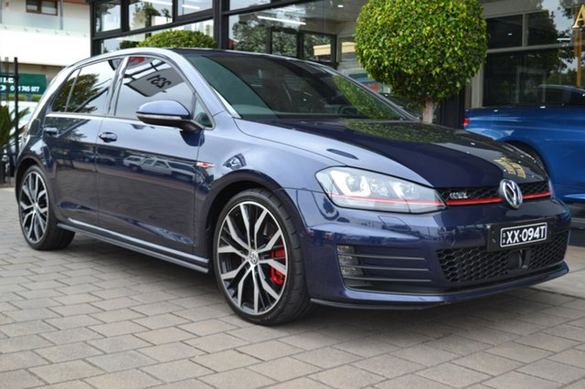Used Volkswagen Golf VII MY15 GTI DSG Performance, 2014 Volkswagen Golf VII MY15 GTI DSG Performance Night Blue 6 Speed Sports Automatic Dual Clutch