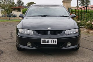 2002 Holden Commodore Vuii SS Black 4 Speed Automatic Utility.