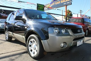 2004 Ford Territory SX TX (RWD) Black 4 Speed Auto Seq Sportshift Wagon