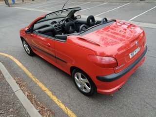 2001 Peugeot 206 T1 MY01.5 CC Red 5 Speed Manual Cabriolet.