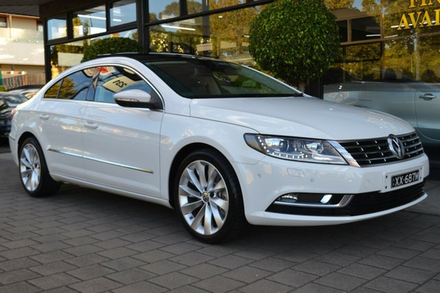 Used Volkswagen CC Type 3CC MY14 V6 FSI DSG 4MOTION, 2013 Volkswagen CC Type 3CC MY14 V6 FSI DSG 4MOTION 6 Speed Sports Automatic Dual Clutch Coupe