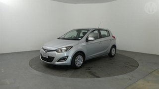 2015 Hyundai i20 Silver 4 Speed Automatic Hatchback.