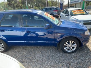 2009 Ford Territory SY MkII TS AWD Blue 6 Speed Sports Automatic Wagon.
