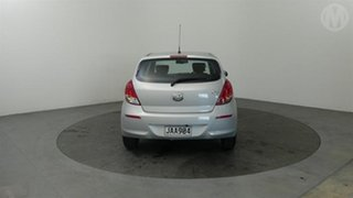 2015 Hyundai i20 Silver 4 Speed Automatic Hatchback