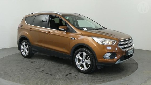 Used Ford Escape  , 2017 Ford Escape Trend AWD Orange 6 Speed Tiptronic Wagon