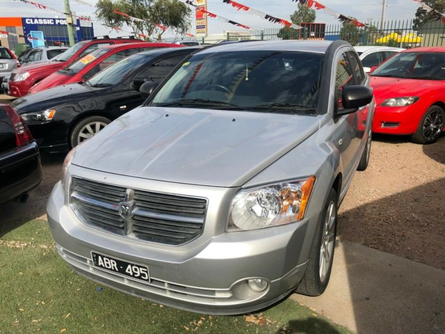Used Dodge Caliber PM MY10 SXT, 2011 Dodge Caliber PM MY10 SXT Silver 6 Speed CVT Auto Sequential Hatchback