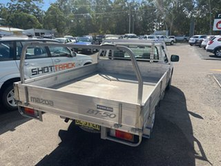 2010 Mazda BT-50 2X4 2.5 TURBO DIESEL White 5 Speed Manual Cab Chassis