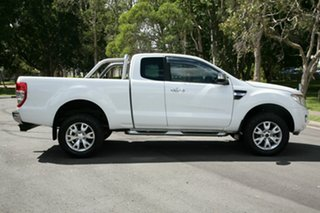 2012 Ford Ranger PX XLT Super Cab White 6 Speed Sports Automatic Utility.