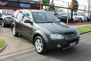 2006 Ford Territory SY Ghia (RWD) Grey 4 Speed Auto Seq Sportshift Wagon.