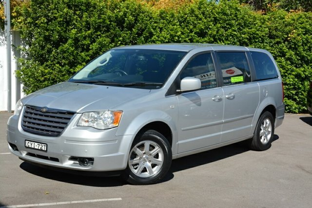 Used Chrysler Grand Voyager RT 5th Gen MY09 Touring, 2009 Chrysler Grand Voyager RT 5th Gen MY09 Touring Silver 6 Speed Automatic Wagon