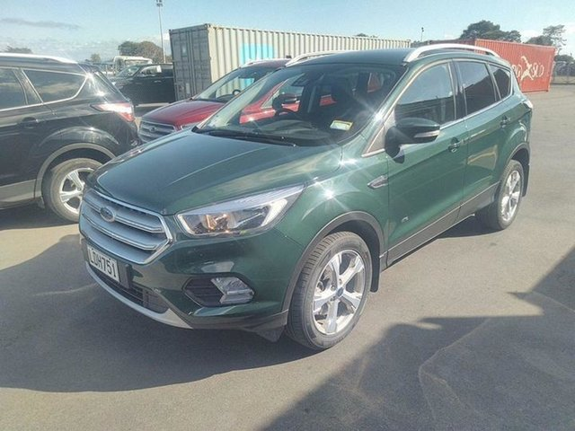Used Ford Escape  , 2018 Ford Escape Trend AWD Green 6 Speed Tiptronic Wagon
