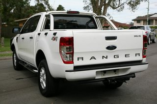 2012 Ford Ranger PX XL Double Cab White 6 Speed Sports Automatic Utility.