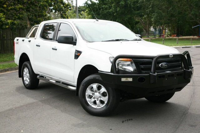 Used Ford Ranger PX XL Double Cab, 2012 Ford Ranger PX XL Double Cab White 6 Speed Sports Automatic Utility