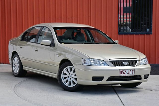 Used Ford Fairmont BF , 2005 Ford Fairmont BF Gold 4 Speed Sports Automatic Sedan
