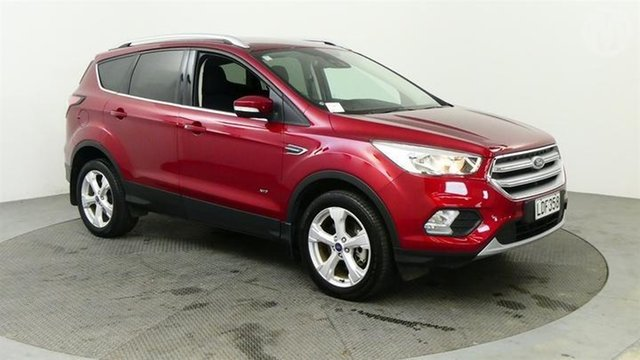 Used Ford Escape  , 2018 Ford Escape Trend AWD Red 6 Speed Tiptronic Wagon