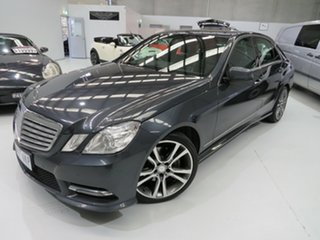 2013 Mercedes-Benz E-Class W212 MY12 E200 BlueEFFICIENCY 7G-Tronic + Elegance Tenorite Grey 7 Speed