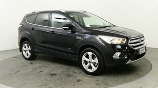2018 Ford Escape Trend AWD Black 6 Speed Tiptronic Wagon.