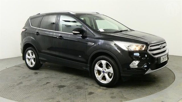Used Ford Escape  , 2018 Ford Escape Trend AWD Black 6 Speed 6spd Tiptronic Wagon