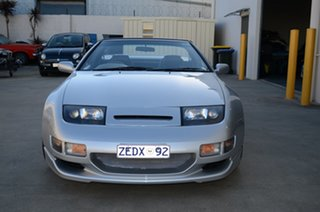 1992 Nissan 300ZX Z32 Silver Automatic Convertible.
