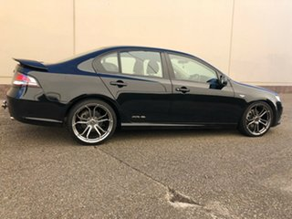 2012 Ford Falcon FG MkII XR6 Turbo Black 6 Speed Sports Automatic Sedan.