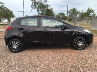 2007 Mazda 2 DE10Y1 Neo Purple 5 Speed Manual Hatchback.