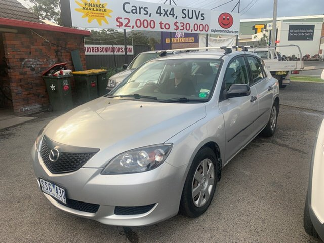 Used Mazda 3 BK Neo, 2004 Mazda 3 BK Neo Silver 5 Speed Manual Hatchback
