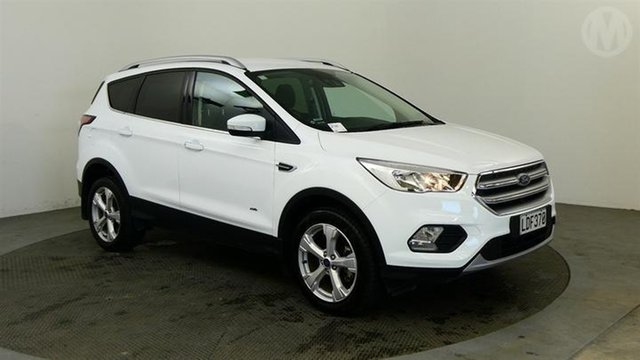 Used Ford Escape  , 2018 Ford Escape Trend AWD White 6 Speed 6spd Tiptronic Wagon