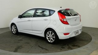 2018 Hyundai Accent 1.6 White 4 Speed Automatic Hatchback