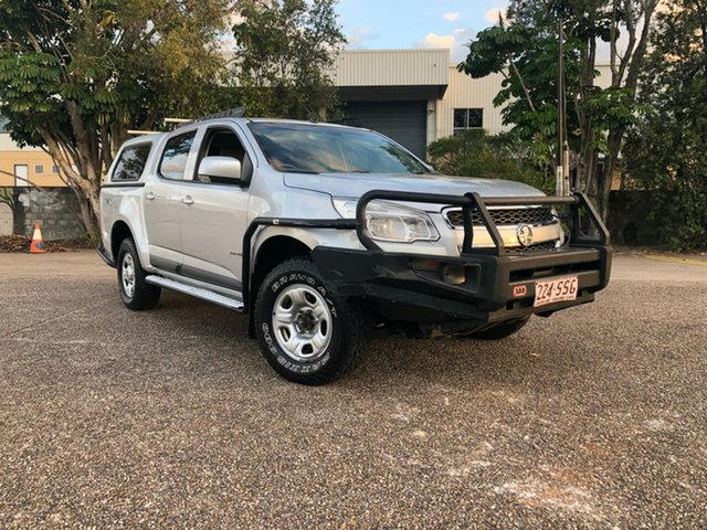 Used Holden Colorado RG MY13 LX Crew Cab, 2012 Holden Colorado RG MY13 LX Crew Cab Silver 6 Speed Sports Automatic Cab Chassis