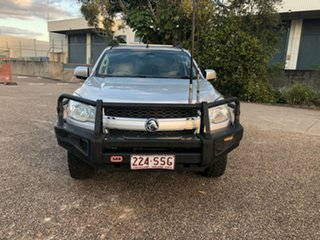 2012 Holden Colorado RG MY13 LX Crew Cab Silver 6 Speed Sports Automatic Cab Chassis