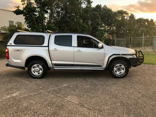 2012 Holden Colorado RG MY13 LX Crew Cab Silver 6 Speed Sports Automatic Cab Chassis.