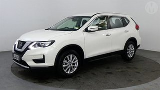 2018 Nissan X-Trail ST 4WD White Continuous Variable Wagon.