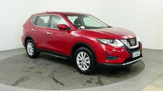 2018 Nissan X-Trail ST 4WD Red Continuous Variable Wagon.