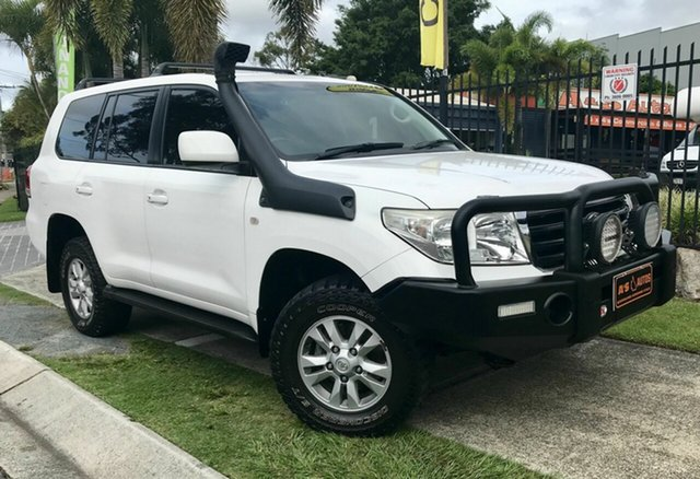 Used Toyota Landcruiser VDJ200R 09 Upgrade GXL (4x4), 2010 Toyota Landcruiser VDJ200R 09 Upgrade GXL (4x4) White 6 Speed Automatic Wagon