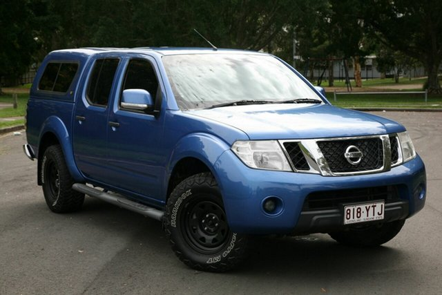 Used Nissan Navara D40 S6 MY12 ST, 2012 Nissan Navara D40 S6 MY12 ST Blue 6 Speed Manual Utility