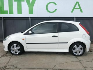 2004 Ford Fiesta WP Zetec White 4 Speed Automatic Hatchback