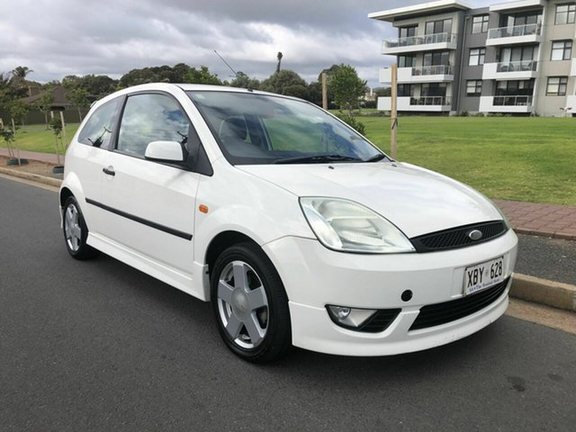 Used Ford Fiesta WP Zetec, 2004 Ford Fiesta WP Zetec White 4 Speed Automatic Hatchback