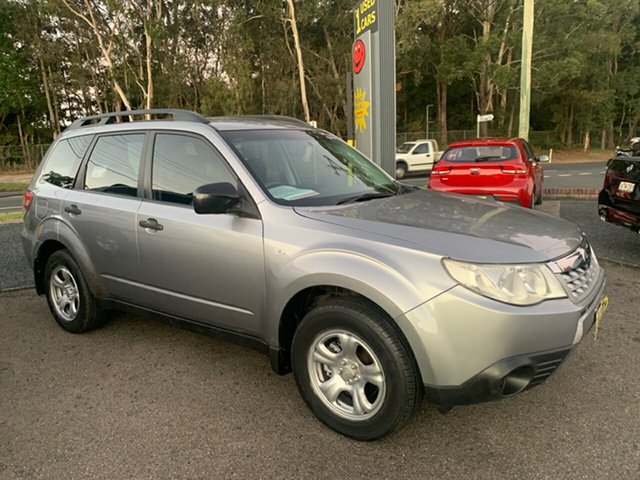 Used Subaru Forester X AWD, 2011 Subaru Forester X AWD Grey 4 Speed Automatic Wagon