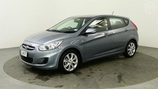 2018 Hyundai Accent 1.6 Grey 4 Speed Automatic Hatchback.