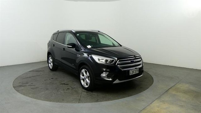 Used Ford Escape  , 2018 Ford Escape Trend AWD Black 6 Speed Automatic Wagon