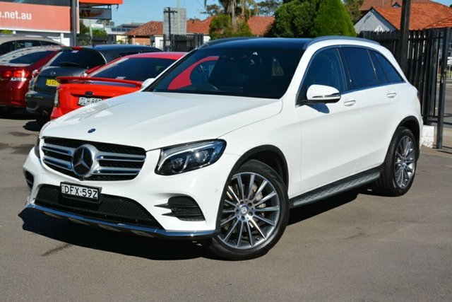 Used Mercedes-Benz GLC250 X253 d 9G-Tronic 4MATIC, 2016 Mercedes-Benz GLC250 X253 d 9G-Tronic 4MATIC White 9 Speed Sports Automatic Wagon