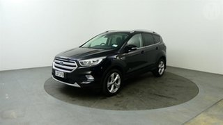 2018 Ford Escape Trend AWD Black 6 Speed Automatic Wagon.