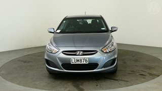 2018 Hyundai Accent 1.6 Grey 6 Speed Automatic Hatchback.