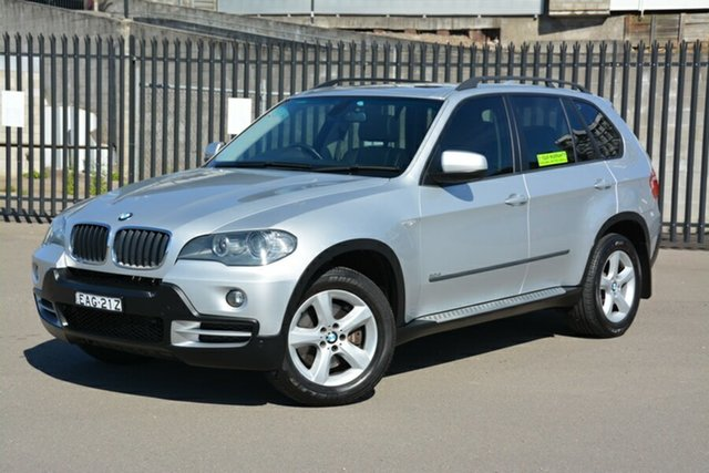 Used BMW X5 E70 d Steptronic, 2007 BMW X5 E70 d Steptronic Silver 6 Speed Sports Automatic Wagon