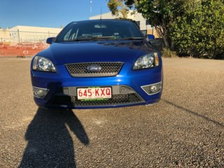 2007 Ford Focus LS XR5 Turbo Blue 6 Speed Manual Hatchback