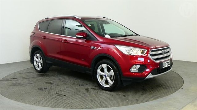Used Ford Escape  , 2018 Ford Escape Trend AWD Red 6 Speed Automatic Wagon