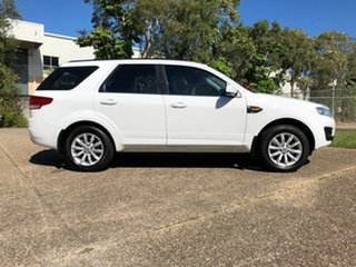 2014 Ford Territory SZ TX Seq Sport Shift White 6 Speed Sports Automatic Wagon.