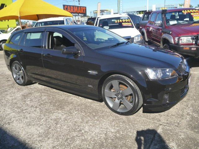 Used Holden Commodore VE II MY12.5 SV6 Sportwagon Z Series, 2012 Holden Commodore VE II MY12.5 SV6 Sportwagon Z Series Black 6 Speed Sports Automatic Wagon
