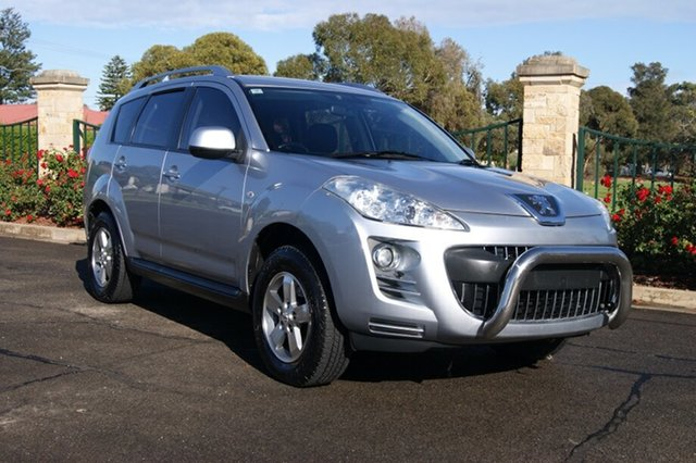 Used Peugeot 4007  ST (5 Seat), 2011 Peugeot 4007 ST (5 Seat) Silver 6 Speed Direct Shift Wagon
