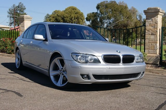 Used BMW 750i E65 MY05 Upgrade , 2006 BMW 750i E65 MY05 Upgrade Silver 6 Speed Auto Steptronic Sedan